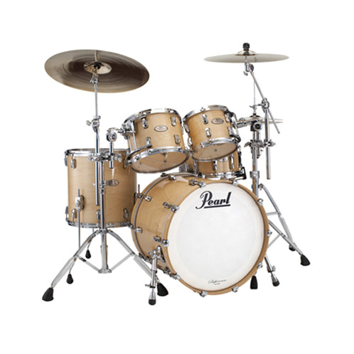 Pearl RF924XEDP/C-102 Reference Series 4-piece Drum Shell Kit Only (10/12/16/22)inch, Natural Maple