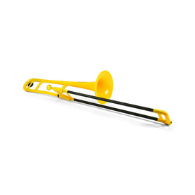 pBone Bb Tenor Plastic Trombone, Yellow