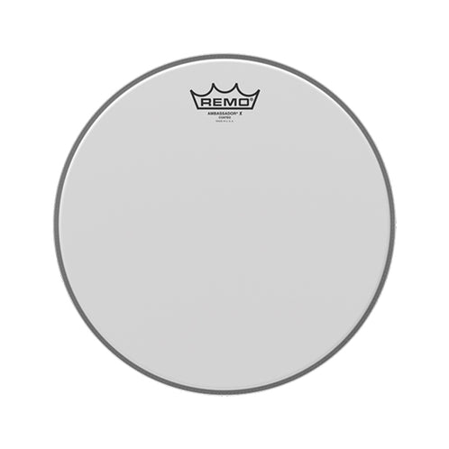 Remo AX-0112-00 12inch Ambassador X Coated Batter Drum Head