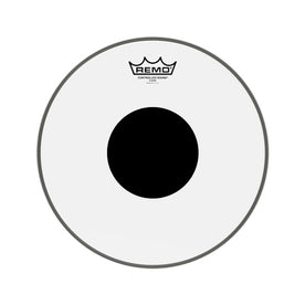 Remo CS-0312-10 12inch Batter Controlled Sound Clear Black Dot On Top Drum Head