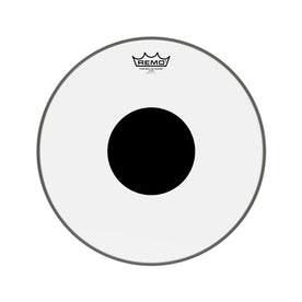 Remo CS-0315-10 15inch Batter Controlled Sound Clear Black Dot On Top Drum Head