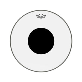 Remo CS-0316-10 16inch Batter Controlled Sound Clear Black Dot On Top Drum Head