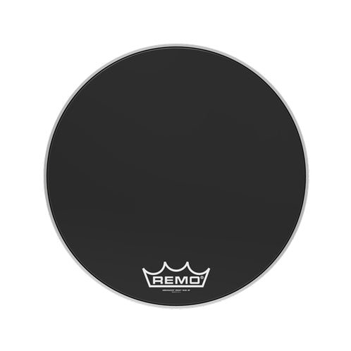 Remo ES-1022-MP 22inch Bass Crimplock Ambassador Ebony Drum Head