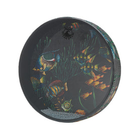 Remo ET-0212-10 12inch Ocean Drum, Fish Graphic