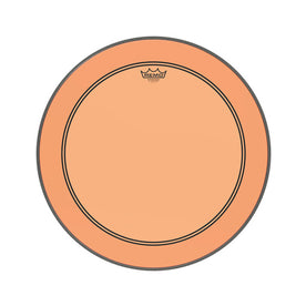 Remo P3-1322-CT-OG 22inch Powerstroke P3 Bass Colortone Batter Drum Head, Orange