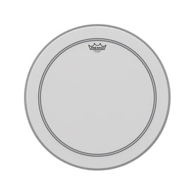 Remo P3-1120-C2 20inch Bass Powerstroke III Coated White Falam Patch Drum Head