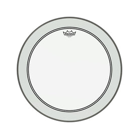 Remo P3-1322-C2 22inch Powerstroke 3 Clear White Falam Patch Bass Drum Head