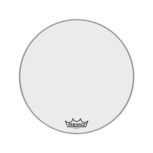 Remo PM-2028-MP 28inch Powermax 2 Ultra White Marching Bass Drum Head