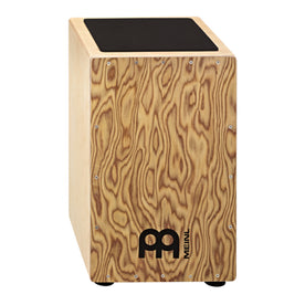 MEINL Percussion CAJ3MB-M Traditional String Cajon, Makah-Burl