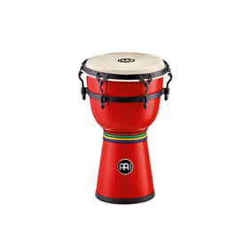 MEINL Percussion HDJ200R 8inch Fiberglass Mini Dancing Djembe, Red