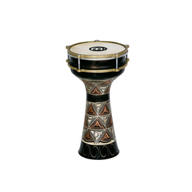 MEINL Percussion HE-204 7 1/2inch Copper Darbuka, Hand-Engraved