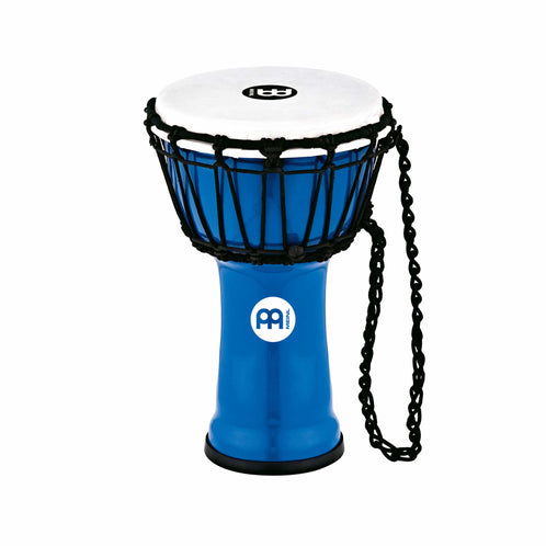 Meinl Percussion JRD-B 7inch Jr. Djembe, Blue