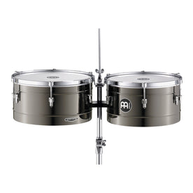 MEINL Percussion MT1415B 14+15inch Marathon Series Timbales, Brass