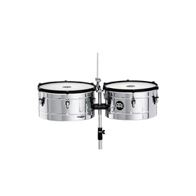 MEINL Percussion MT1415-CH 14+15inch Marathon Series Timbales, Chrome