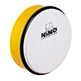 NINO Percussion NINO4Y 6inch ABS Hand Drum, Yellow