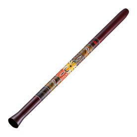 MEINL Percussion SDDG1-R 51inch Synthetic Didgeridoo, Red