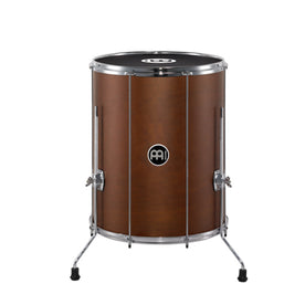 MEINL Percussion SU18-L-AB-M 18inch Traditional Stand Alone Wood Surdo, African Brown