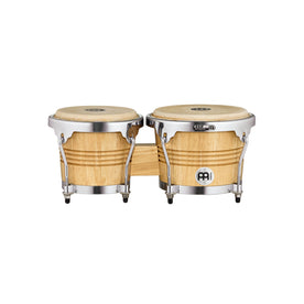 MEINL Percussion WB200NT-CH WB200 Wood Bongo, Chrome Plated Hardware