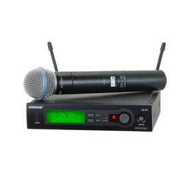 Shure SLX24A/BETA58 Handheld Wireless System