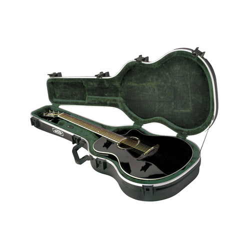 SKB 1SKB-30 Thin-line Acoustic/Classical Deluxe Guitar Case