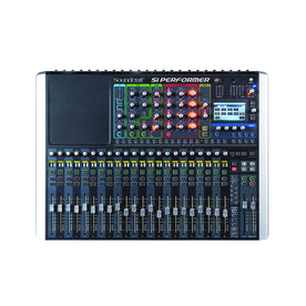 Soundcraft Si Performer 2 - 24 Mic preamp 8 stereo Digital Audio Mixer w DMX 512 lighting controls