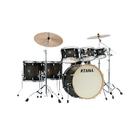 TAMA CL72RSP-JBP Superstar Classic Maple 7-Piece Drum Shell Kit, Java Burst Lacebark Pine