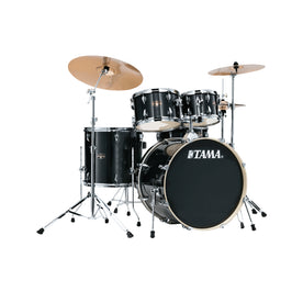 TAMA IE52KH6W-HBK Imperialstar 5-Piece Drum Kit w/Hardware, No Cymbals, Hairline Black