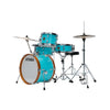 Tama LJK48H4-AQB Club-JAM Kit 4-Piece w/ Hardware+Throne, Aqua Blue