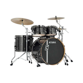 TAMA MK52HZBNS-MGD Superstar Hyper-Drive Maple 5-Piece Drum Shell Kit Only, Midnight Gold Sparkle