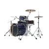 Tama ML40HZBN2-SBV Superstar Hyper-Drive Duo 4-Piece Drum Shell Kit, Satin Blue Vertical Stripe