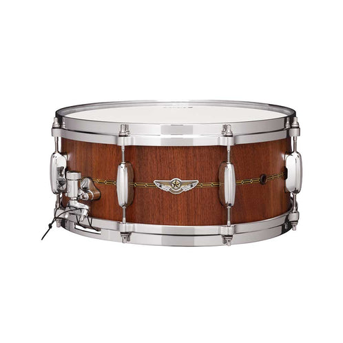 Tama TVW146S-OWN 6x14inch Star Stave Walnut Snare Drum, Oiled Natural Walnut