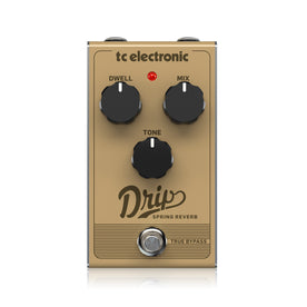 TC Electronic Drip Spring Reverb Guitar Effects Pedal