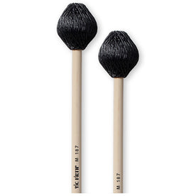 Vic Firth M187 Multi-Application Series Vibe Mallet, Rubber Core, Medium Hard Cord