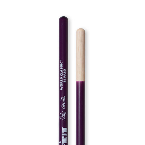 Vic Firth SAA2 World Classic Alex Acuna El Palo Timable stick, Purple
