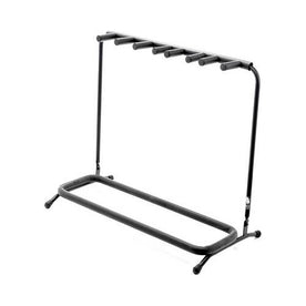 Warwick RS20891B-2 Multiple 5 (3xElectric, 2xAcoustic) Guitar Rack Stand, Black