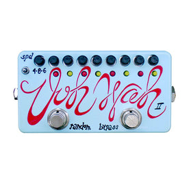 Zvex Hand-Painted Ooh-Wah II Guitar Effects Pedal