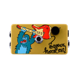Zvex Hand-Painted Super Hard On Guitar Effects Pedal