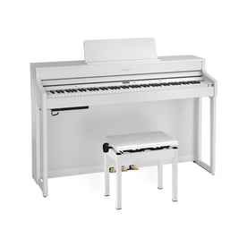 Roland HP702 Digital Piano, White
