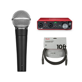 Shure Starter Recording Bundle