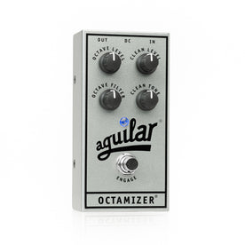 Aguilar Ltd Ed 25th Anniversary Silver Octamizer Bass Guitar Effects Pedal