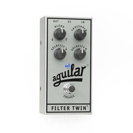 Aguilar Ltd Ed 25th Anniversary Silver Filter Twin Bass Guitar Effects Pedal