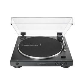 Audio Technica AT-LP60XUSB Fully Automatic Wireless Belt-Drive Turntable (USB), Black