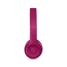 Beats Solo3 Wireless On-Ear Headphone, Brick Red