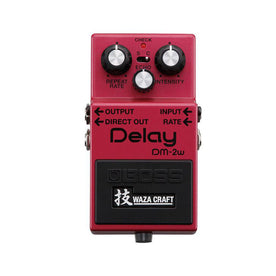 BOSS DM-2W Delay Waza Craft Guitar Effects Pedal