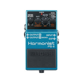 BOSS PS-6 Harmonist Guitar Effects Pedal