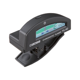 BOSS TU-10-BK Clip-On Chromatic Tuner, Black
