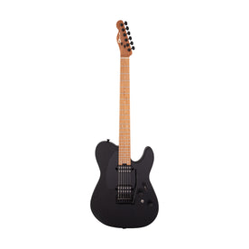 Charvel Pro-Mod So-Cal Style 2 24 Frets HH 2PT Electric Guitar, Black Ash