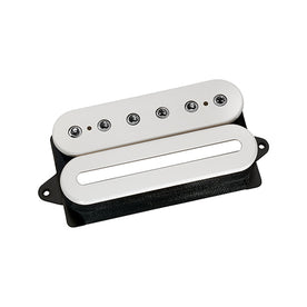 DiMarzio DP207FW D Sonic Humbucker Guitar Pickup, F-Spaced, White