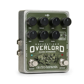 Electro-Harmonix Operation Overlord Overdrive Guitar Effects Pedal