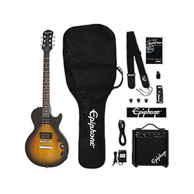 Epiphone Les Paul Electric Guitar Player Pack, Vintage Sunburst